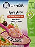 Gerber Toddler Cereal, 5 Grain Cherries and Berries, Add Water, 227-Gram