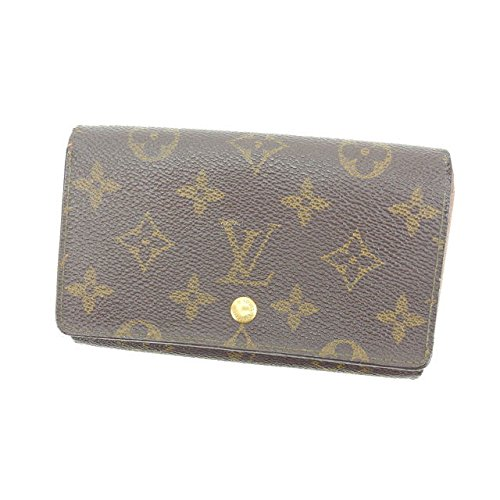 ルイヴィトン Louis Vuitton L字ファスナー財布 二つ折り ユニセックス ポルトモネビエトレゾール M61730 モノグラム 中古 即納 F1023 B01LZK3YXY