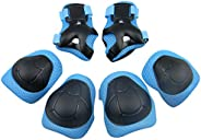 Panegy Children Kids Cycling Riding Bicycle Roller Skating Protective Gear Knee Elbow Wrist Support Protective