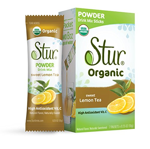 Stur - Powder Lemon Iced Tea (42 sticks) – ORGANIC Powder...