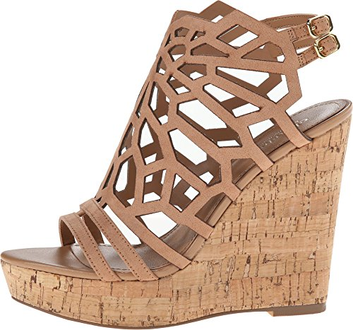 Charles by Charles David Women's Apollo Nude Micro Suede Sandal 7.5 M