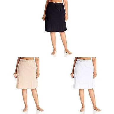 68a11510c2 Vassarette Women s Adjustable Waist Half Slip 11073 at Amazon Women s  Clothing store