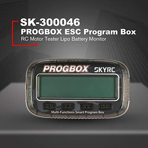 Wikiwand SKYRC SK-300046 PROGBOX ESC Program Box RC Motor Tester Lipo Battery Monitor by Wikiwand (Image #3)