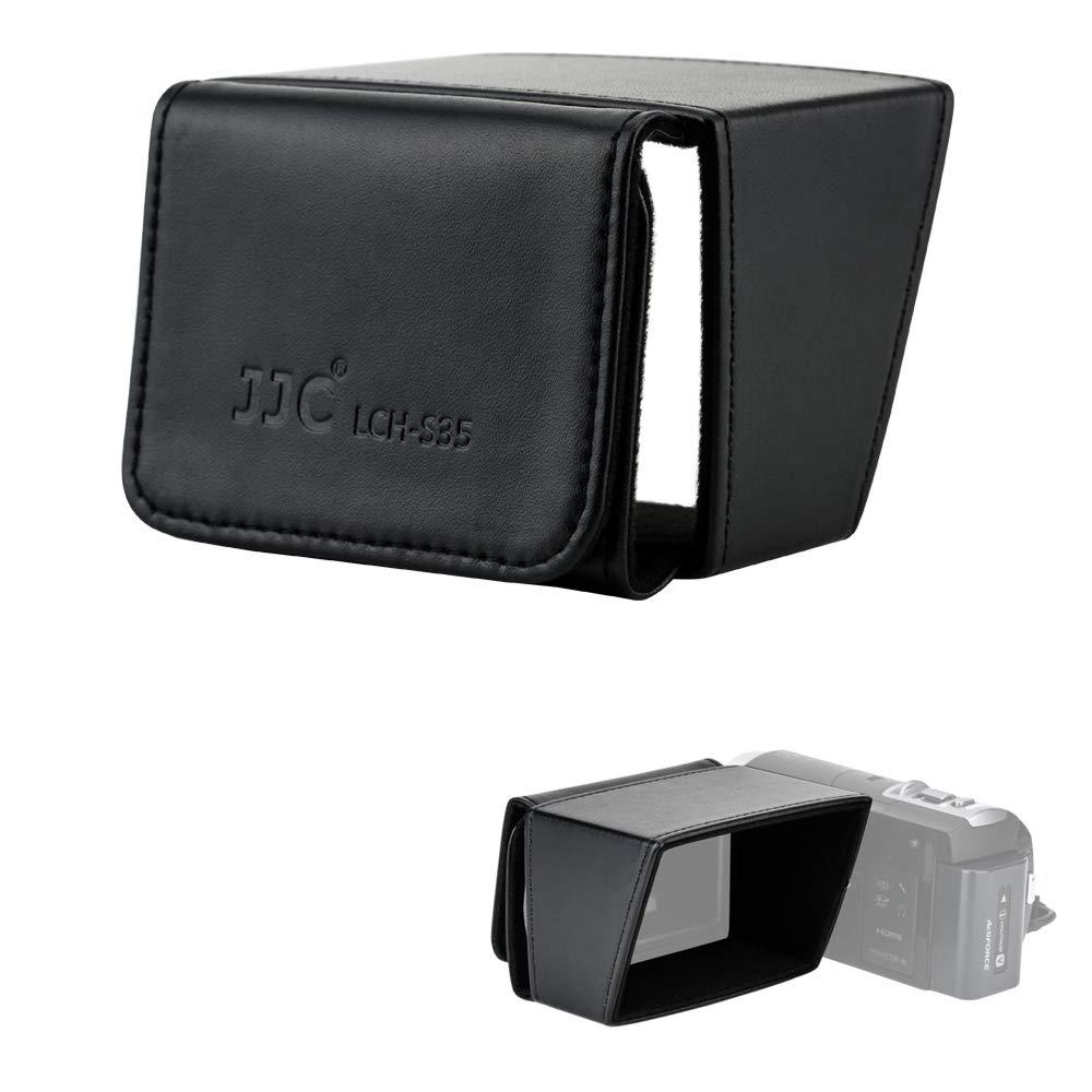 Parasol p/ Pantalla LCD Camcorder 3 Pulgadas Sony Canon Pana