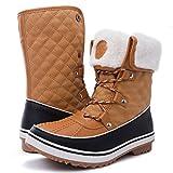 Women's Globalwin 1632 Black Grey Snow Boots (8.5(M) US Women, 1706Camel)