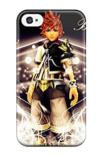 Catherine Thomas NXKKCZK4290FWIwE Case Cover Iphone 4/4s Protective Case Kingdom Hearts Video Game Other