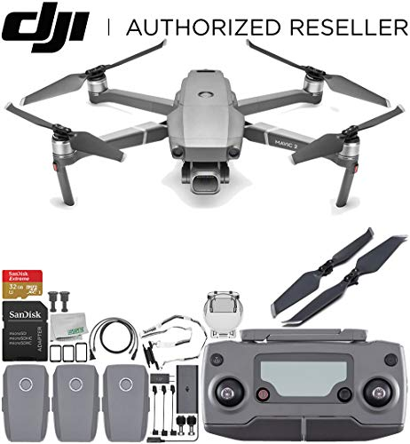 "- DJI Mavic 2 Pro Drone Quadcopter with Hasselblad Camera 1"" CMOS Sensor Ultimate Bundle"