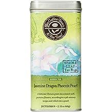 The Coffee Bean & Tea Leaf, Tea, Jasmine Dragon Phoenix Pearl, 20 Count Tin, 2.11oz