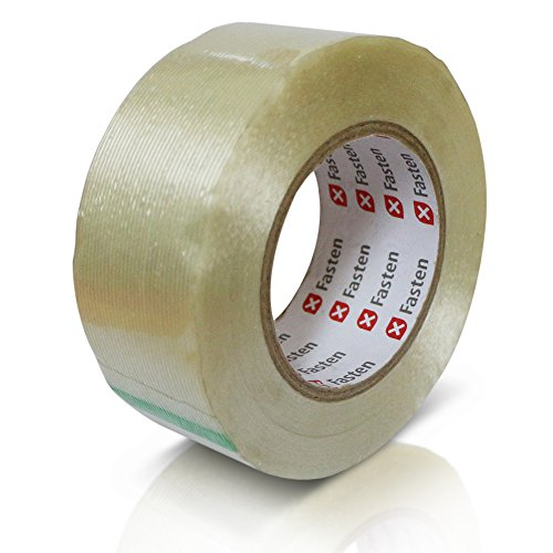 Heavy Duty Strapping Tape - XFasten Heavy Duty Filament Tape, 2 Inch by 60 Yards