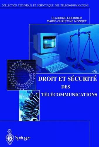 Droit et Sécurité des Télécommunications (Collection Télécom (ex-Collection technique et scientifique des téléco