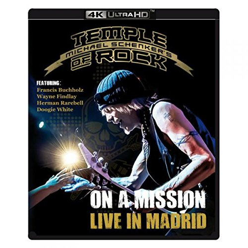 Blu-ray : Michael Schenker's - On A Mission: Live In Madrid (4K Mastering)