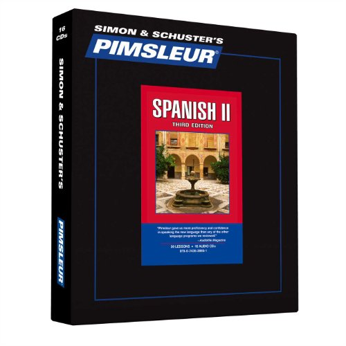 Pimsleur Spanish Level 2 CD: Learn to Speak and Understand Latin American...