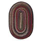Colonial Mills CK77R024X036 Chestnut Knoll Space-Dye Braided Rug, Amber Rose