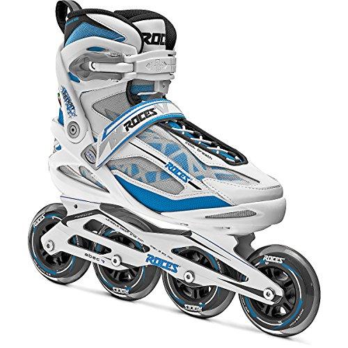Roces Xenon Womens Inline Skates - 6.0/White-Norse Blue ()