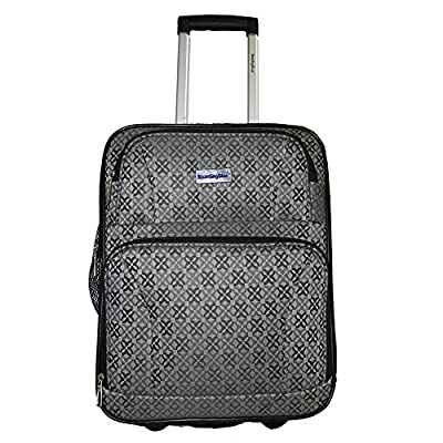durable modeling BoardingBlue American, Frontier,Spirit Airlines Rolling Personal Item Luggage