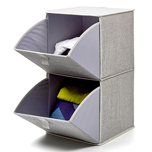 2-Tier Pull-Down Bins for an Organized Coat Closet