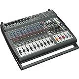 Behringer PMP4000 mezclador DJ - Mezclador para DJ (109 Db, 24 Bit, 46,875 kHz, 0,002%, 1050W, 47,6 cm) Negro
