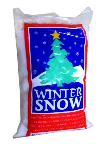 Twinkling Snow - FloraCraft Styrofoam Snow 4 Liters White