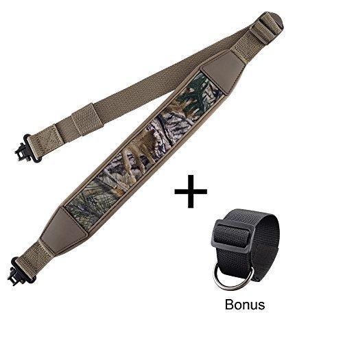 Mil-Spec Swivels,Durable ShoulderPadded Strap,Length Adjuster by BOOSTEADY (Gun Shoulder Strap)