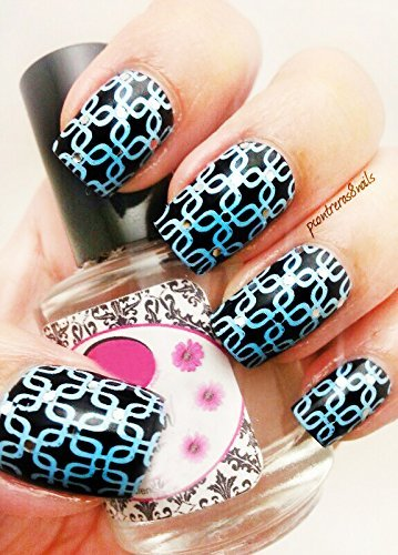 ciciampsisi acrylic nail art stamping plates set jumbo 1