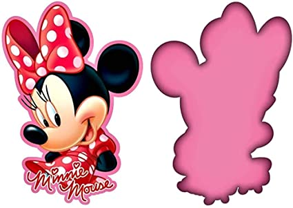 Disney Minnie Mouse Cojin 3D niña, Multicolor, Única: Amazon ...