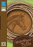 NIV, Wild About Horses, Imitation Leather, Tan