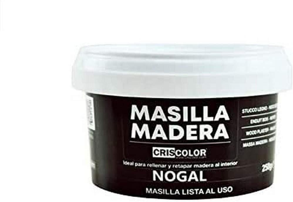 CRISCOLOR Masilla Madera Nogal, ENVASE 250gr.
