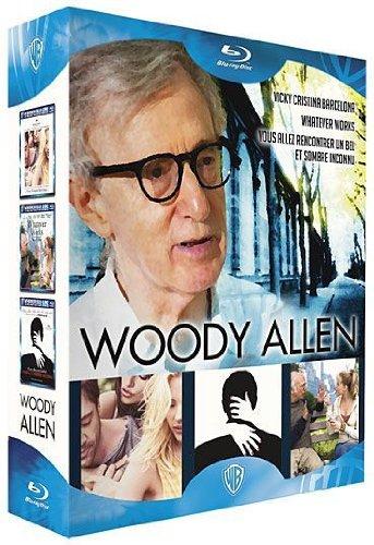 Woody Allen - Coffret - Vous allez rencontrer un bel et sombre inconnu + Vicky Cristina Barcelona + Whatever Works [Blu-ray]