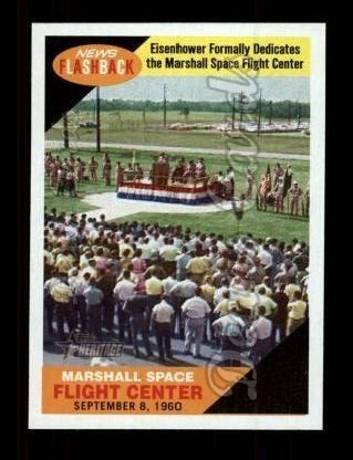 2009-topps-heritage-news-flash-7-nf-marshall-space-flight-center-baseball-card-deans-cards-8-nm-mt
