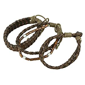 Mens Bracelet Fashion Jewelry Indian Handmade Leather Accessories Wristband