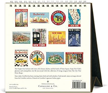 Cavallini Papers & Co. 2018New York Schreibtisch Kalender