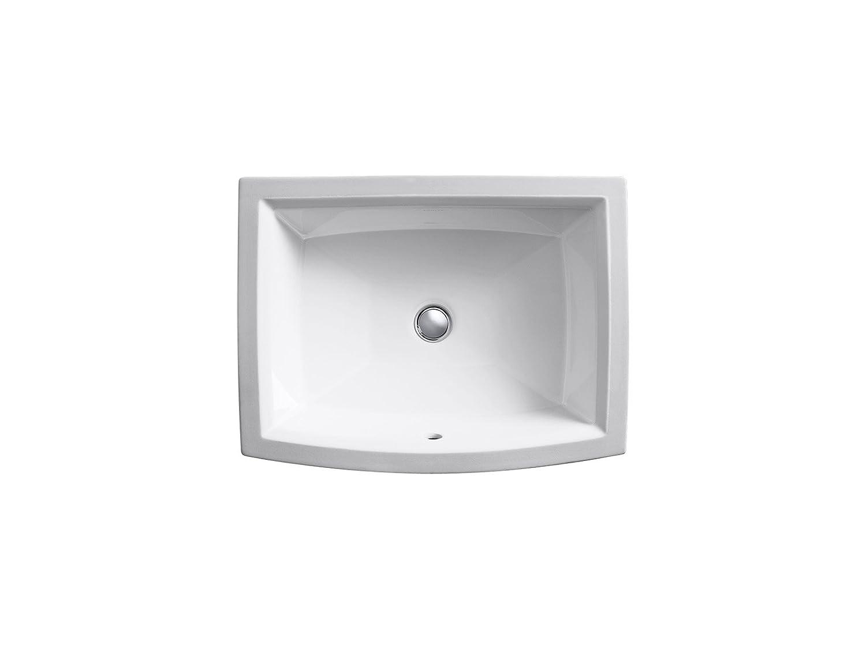 Kohler K 2355 0 Archer Undercounter Bathroom Sink White