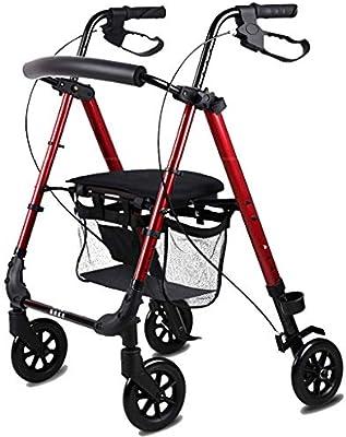 Walk Aid Ayuda para Caminar con Andador Plegable de Aluminio ...