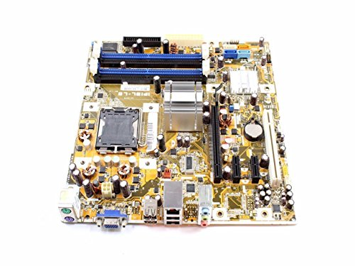 002 Compaq Motherboard - HP Compaq DX4200 Intel G31 Express 4GB DDR2 SDRAM 4 Memory Slots LGA 775 Socket Mother Board 459163-002+N 459163-002 462797-001 IPIBL-LB