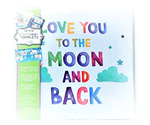 Tapestry Love You To The Moon And Back Themed Baby Scrapbook And