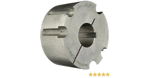 Bore Set Screw 8mm 2 Dia x 1//4 Wide V-Belt Pulley Nylon Body x 5//16