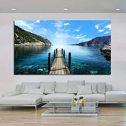 リビングルームキャンバスアート家の装飾現代絵画50×80センチなしフレーム用風景画壁写真