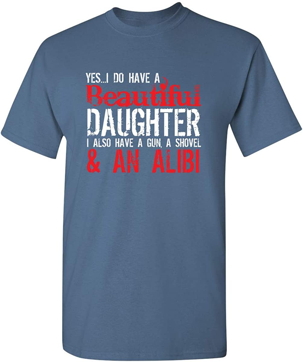Mom Dad Gift Idea Sweatshirt Royal Blue When GOD Made Daughters Gave Me The Best
