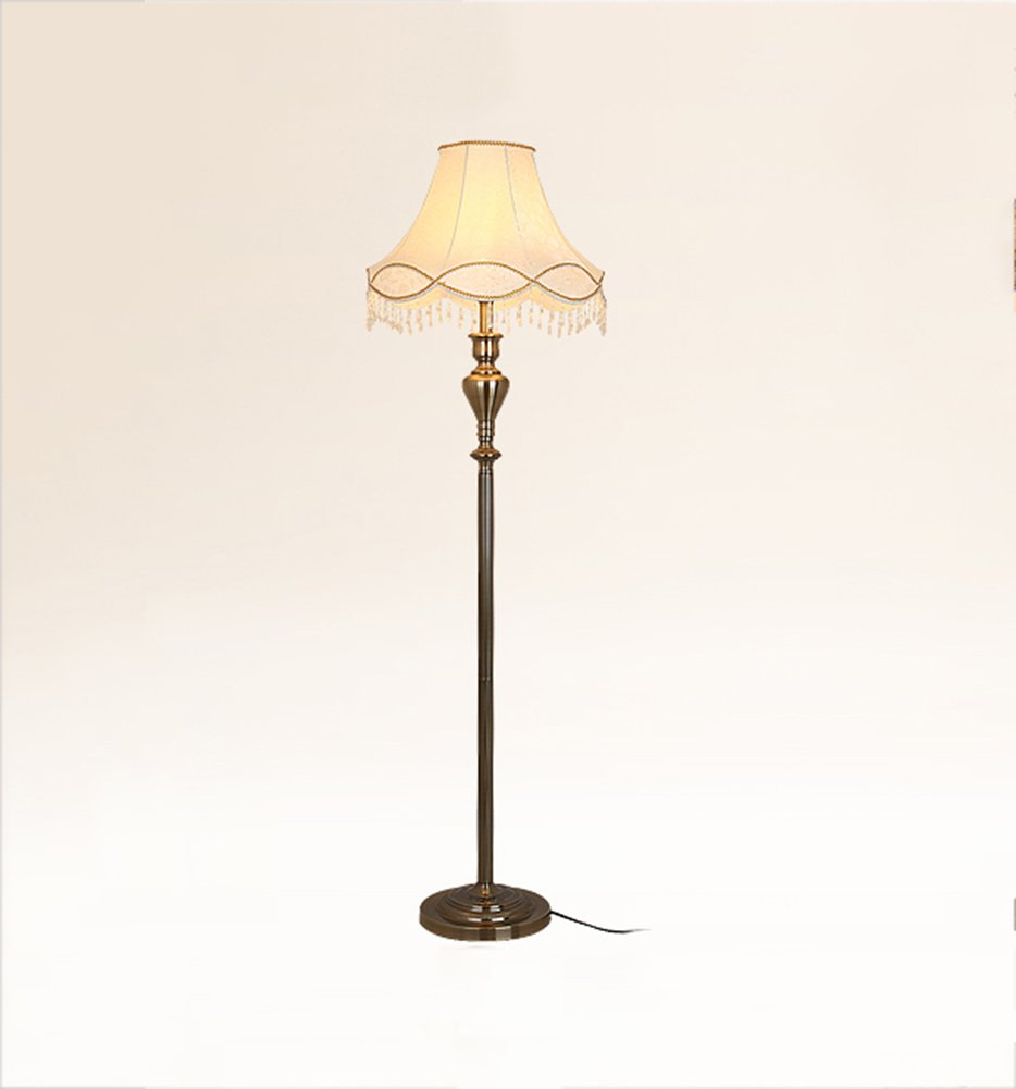 GRJH® ヴィンテージフロアランプコンチネンタルリビングルームJian OuホテルロビーフットスイッチE27ハイ151cm 淡色にすることができる,エレガントでシンプルな (色 : #2) B07D71JYN8 27865 #2 #2