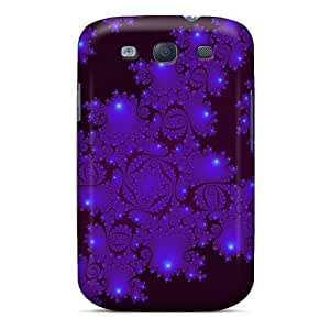 High-end Case Cover Protector For Galaxy S3(neon Purple)