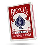 Magic Makers Bicycle Blank Face Red Back Card Deck