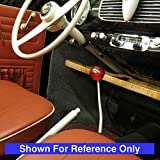 American Shifter 47335 Red Metal Flake Shift Knob with 16mm x 1.5 Insert (Black Automotive Car Battery)