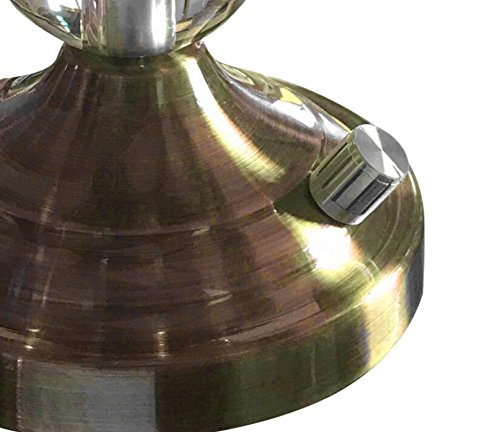 MTBHW American Retro Crystal Lamp Table Lamp Bedroom Bedside Lamp European Luxury Table Lamp by MTBHW (Image #5)