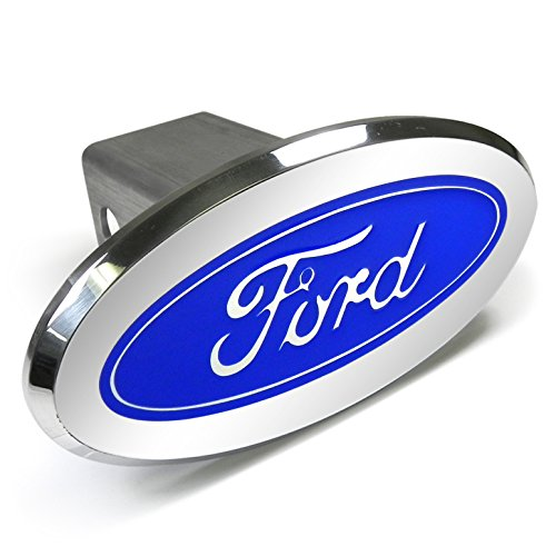 (Ford Logo Oval Aluminum Tow Hitch)