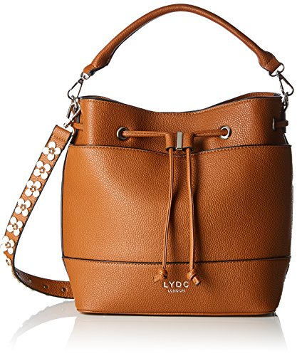 Lydc Marron 006 sac bandoulière Isa Brown 4B4r7x