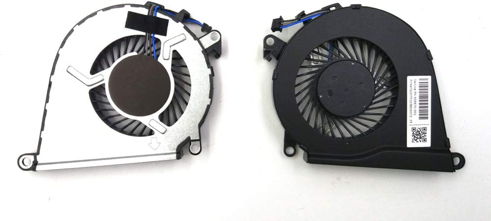 LPH Replacement CPU Fan for HP OMEN 15-AX 15-AX033DX 15-AX039NR 15-AX043DX 15-AX210NR 15-AX243DX 15-AX250WM 15-AX252NR 15-AX253DX 15-AX256NR 15-AX257NR