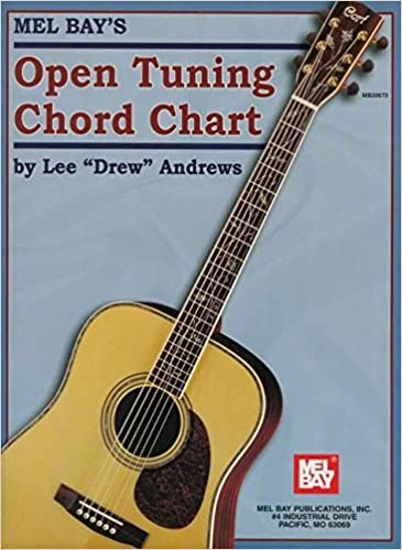 Mel Bay Open Tuning Chord Chart: Lee \