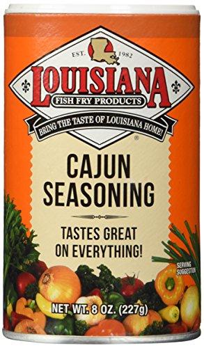 (Louisiana Fish Fry Products Cajun Seasoning 8 Ounce)