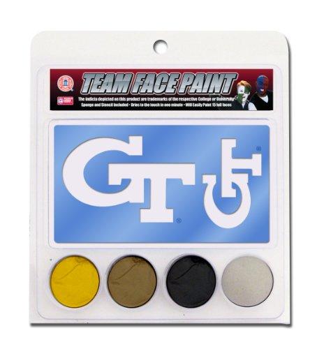 NCAA Georgia Tech Yellow Jackets Face Paint Kit