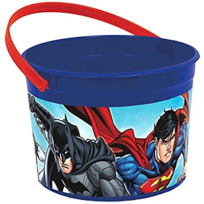 Justice League Container, Party Favor: Toys & Games